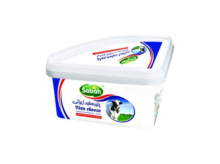 پنیر سفید 600 گرمی(ظرف سه گوش)